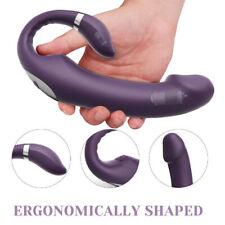 Wand-Massage Massager Cordless Full Body Vibrating Multispeed USB Rechargeable
