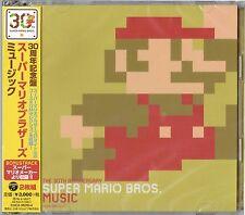 Super Mario Bro 30th Anniversary Soundtrack Nintendo Mario Maker CD Game Music