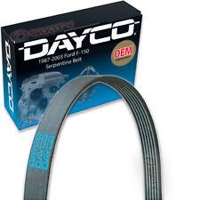 Dayco Serpentine Belt for 1987-2003 Ford F-150 4.9L L6 5.0L 5.4L 4.6L V8 - V zq