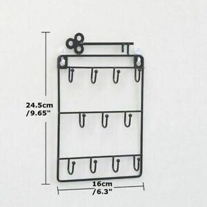 Door Back Key Holder Storage Rack Organizer Wall Mounted Hanging Hanger HooY*BI