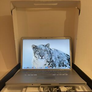 Apple MacBook Pro 17 - Intel CoreDuo - 120GB SSD - 2GB RAM - A1151 K721