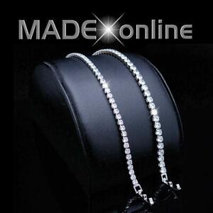 Ladies Thin Tennis Bracelet, with Cubic Zircon Settings