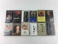Lot of 12 Various Country and Other Genres Audio Cassette Tapes
