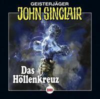 "Preisalarm! * HÖRSPIEL CD * JOHN SINCLAIR ""Das Höllenkreuz"" Folge 2000 * NEU/OVP"