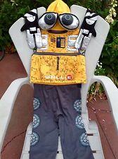 EURO DISNEY WALLE WALL E ROBOT PLUSH HAT MASK HALLOWEEN COSTUME CHILD BOYS S 5 6