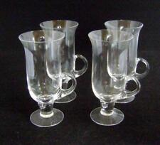 Four Dartington Irish Coffee Glasses: Frank Thrower Pattern FT83