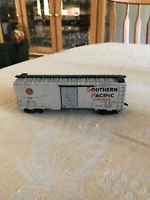 Vintage Southern Pacific SP #163985 Gray Train Box Car HO Scale