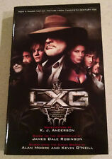 *The League Of Extraordinary Gentlemen K.J. Anderson Paperback Movie Rare*