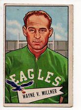 1952 Bowman Large Football Card #57 Wayne Millner-Philadelphia Eagles
