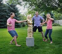2.5ft Giant Jenga Game Wood Block Yard Tower Drinking Party Wood Stack Blocks