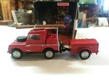 Matchbox Car Models of Yesteryear 1948 Land Rover Auxiliary 1993