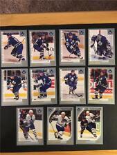2000/01 Topps Toronto Maple Leafs Team Set 11 Cards