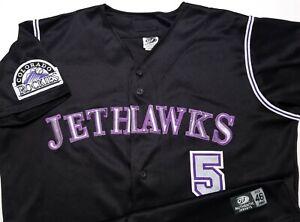 Lancaster JetHawks Colorado Rockies MILB Team Issue OT Sports USA Made 46 Jersey