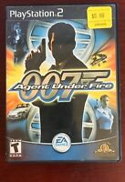 James Bond 007 in Agent Under Fire (Sony PlayStation 2, 2002) Tested