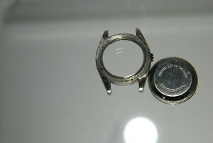 Rolex 69190 watch case  for 2130 2135 movement parts or restore