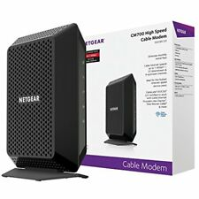 NETGEAR CM700 DOCSIS 3.0 Cable Modem 1.4 Gbps Max Download Speed XFINITY Comcast
