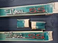 1963, 1964 Nova, Chevy 2 Super Sport NOS quarter emblems 3832828