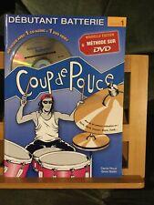 Coup De Pouce Methode Debutant Batterie Volume 1 DVD Denis Roux Silvio Biello