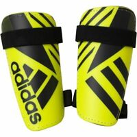Adidas Ghost Lite Shinguards Shin Pads Boys Youths Yellow Black 6-18 Years
