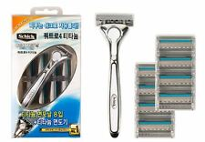 Schick Quattro Titanium 1 Razor + 8 Cartridges  Total 9 Blades BRAND NEW SEALED