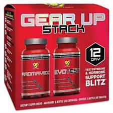 BSN Gear Up Stack - 12 Day - Testosterone & Hormone Support (EvoTest + Aromavex)