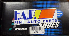 BRAND NEW FDP BRAKE SHOES 474 FITS VEHICLES LISTED ON CHART