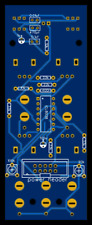 simple VCO LFO PCB DIY kit synth module