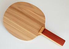 Handmade Table Tennis Blade w/Satin Walnut (5 Ply - 83g - ST - OFF)