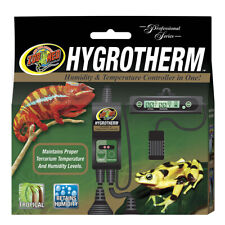 Zoo Med Hygrotherm Reptile Vivarium Digital Thermostat & Humidity Controller Evo