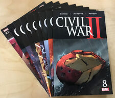 Marvel's Civil War II #1-8 & the Oath Complete Set (2016) Comic Lot