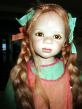 Annette Himstedt 2008 Maliwi *Fall * Red Braids, Freckles Mib w/Coa