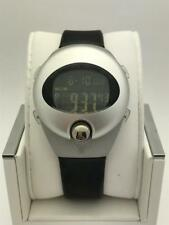 Pulsar Spoon Unisex Stainless Steel Black Silicone Band Digital Watch PZX 013S
