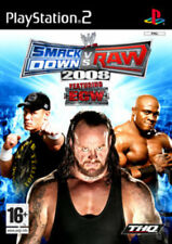 WWE Smackdown! Vs. RAW 2008 Featuring ECW (PS2) VideoGames