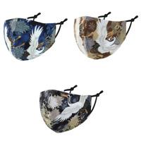 Stoffmaske Gesichtsmaske Maske Mundnasenmaske Kranich Japan 100 % Baumwolle