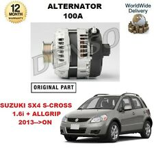 FOR SUZUKI SX4 SCROSS 1.6 2013-->ON NEW ORIGINAL DENSO 100A ALTERNATOR