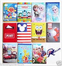 Christmas 3D Passport Cover Holder Card Travel Super Hero Thomas Minion Princess