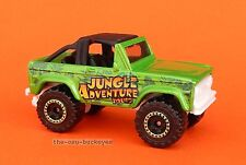 2012 Matchbox Loose 1972 '72 Ford Bronco 4X4 Green Jungle Multi Pack Exclusive