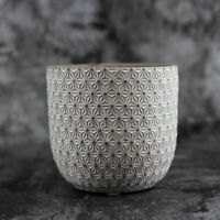 Round Vase Silicone Mold Concrete Flowerpot Mould Handmade Craft Cement Planter