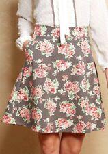 Matilda Jane CHERYL SKATER Skirt Large L Floral Women's Friends Forever NWT
