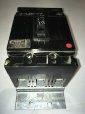 Ge Ted136100 Circuit Breaker- 100A 600V 3 Pole