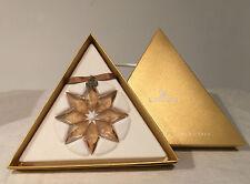 Swarovski Crystal Snowflake Ornament 2013 Free Shipping US CA large Gold