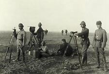 Turkish Ottoman Army Troops Heliograph Huj World War 1 6x4 Inch Reprint Photo 1