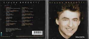 CD 12 TITRES CLAUDE BARZOTTI ANCORA DE 2003