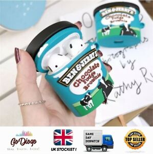 Novelty Ben & Jerrys Case For Apple Airpod 1 and 2 UK STOCKIST/SELLER FREE P+P