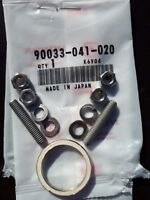 GENUINE HONDA 90 C90 CUB 75-03 PAIR EXHAUST STUDS C/W STAINLESS NUTS WASHERS