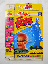VINTAGE! 1995 Kellogg's Corn Pops Batman Forever Cereal Box-Riddler