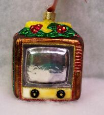 Slavic Treasures Retired Glass Ornament - On The Air