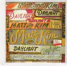 (GD339) Matt & Kim, Daylight - 2009 DJ CD