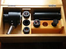 LOMO microscope  PHOTO attachment MFN-10 , Homal eyepiece: 1,7x ; 3x ; 5x