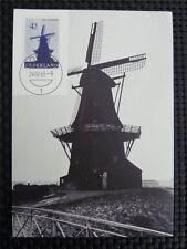 NIEDERLANDE MK 1963 WINDMÜHLE WINDMILL MAXIMUMKARTE MAXIMUM CARD MC CM 9735